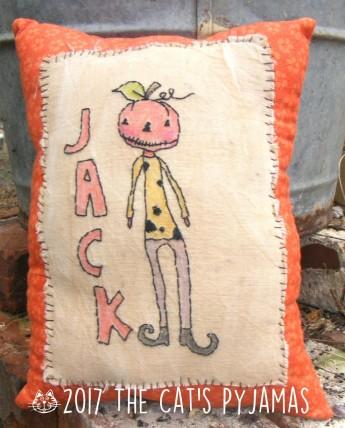 Jack Stitchery Pillow