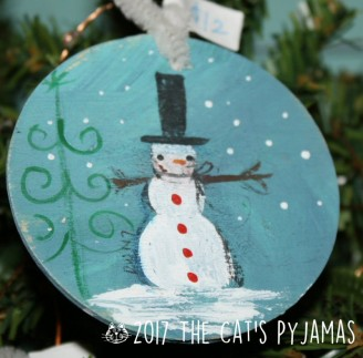 Snowy Scene ornament