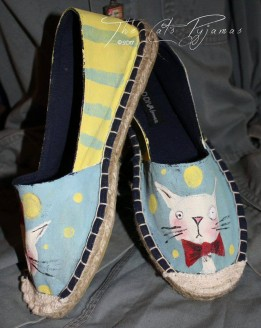 Hipster Cat shoes