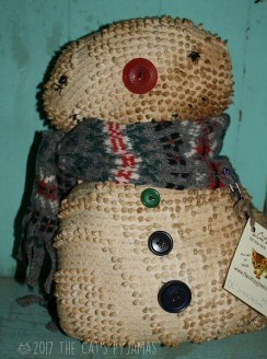 Old Chenille Snowman