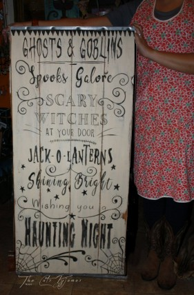 Ghosts & Goblins sign