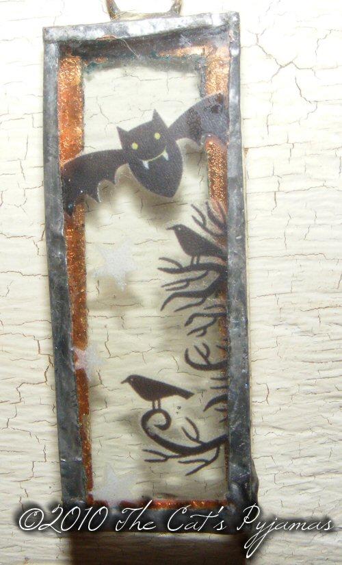 Bats & Ravens pendant