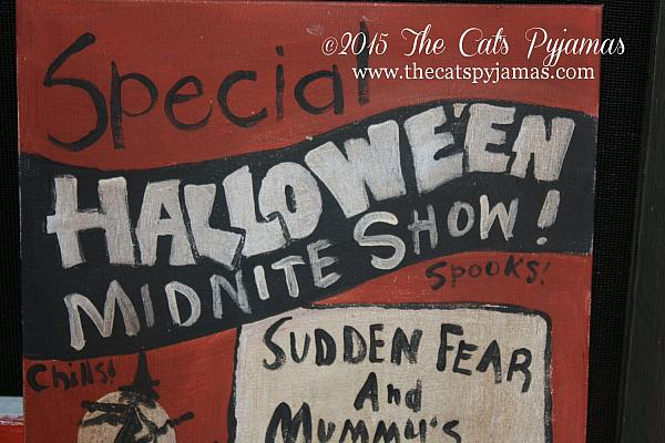 Old Spook Show Poster reproduction