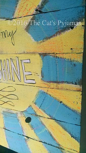 You are my Sunshine pallet Sign