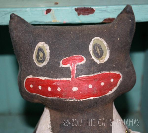 Crazy Halloween Cat