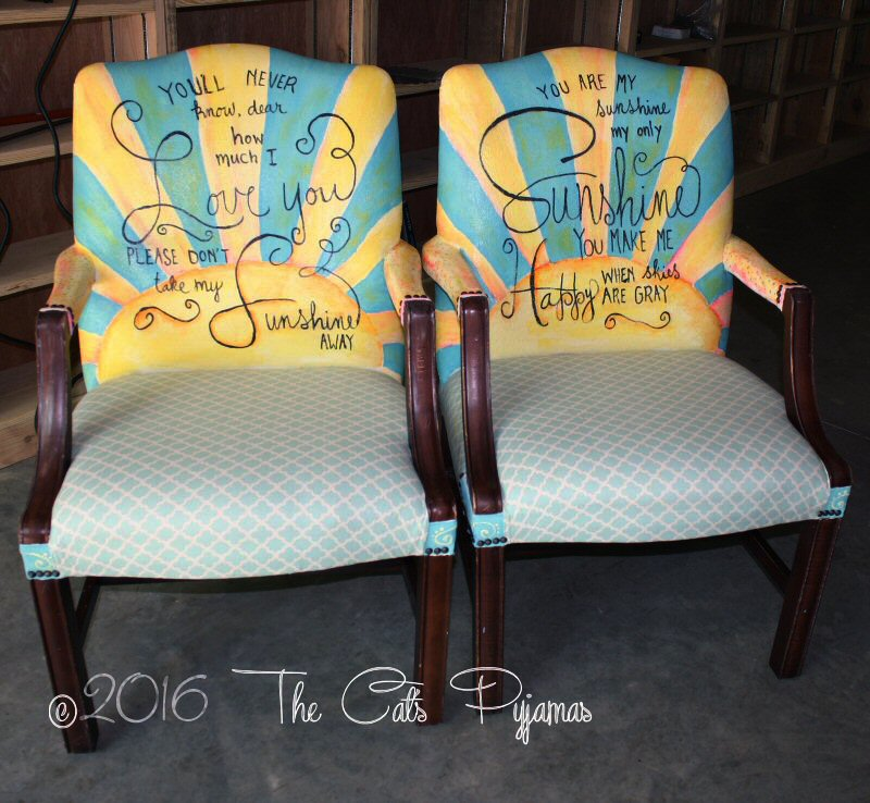 Hand-Painted Chairs