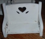Folk Art Doll Chair