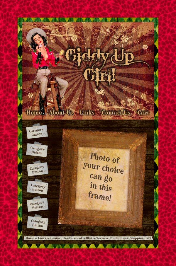 Giddy Up Girl Graphics Set
