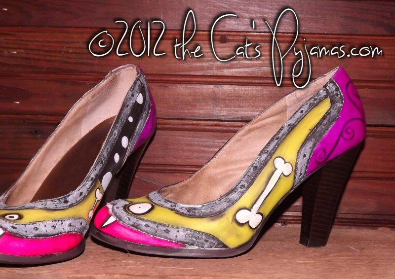 Zombie High Heel shoes