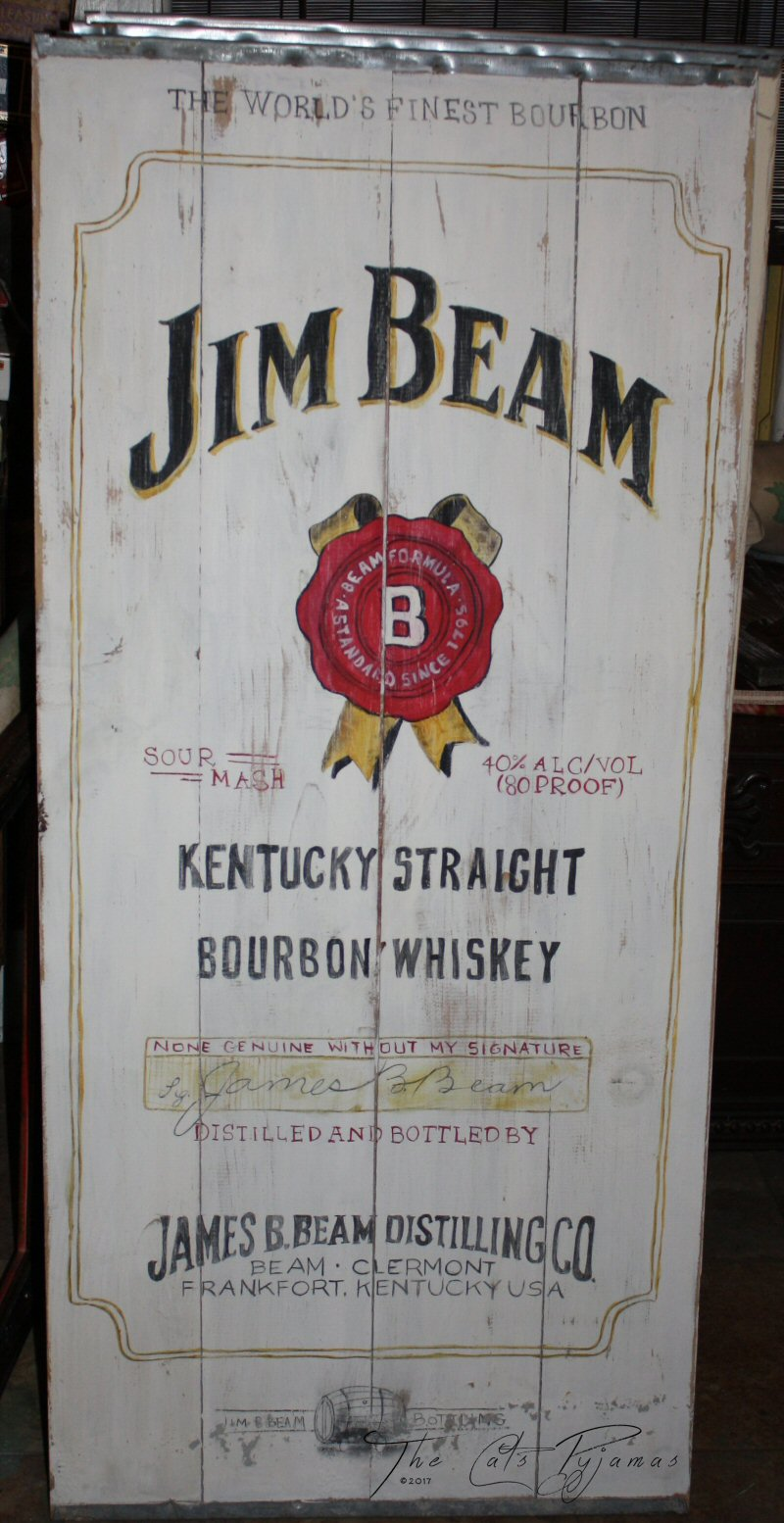 Jim Beam Sign