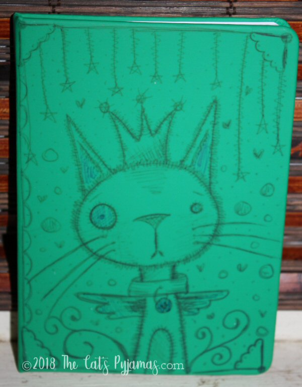 Green cat journal
