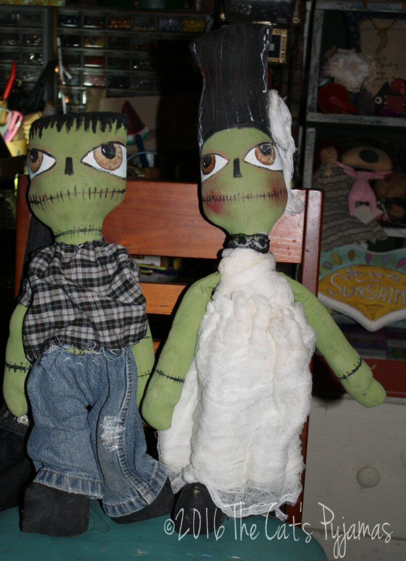 Frankenstein's Monster & his Bride!