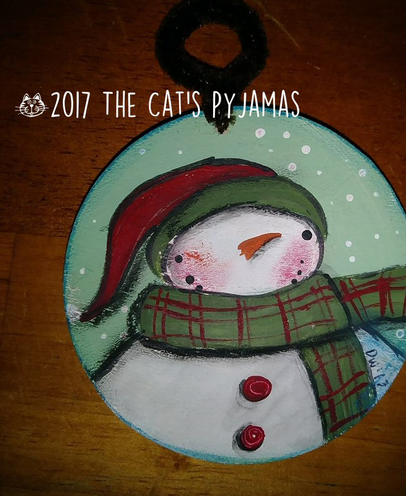 Snowman ornament 035