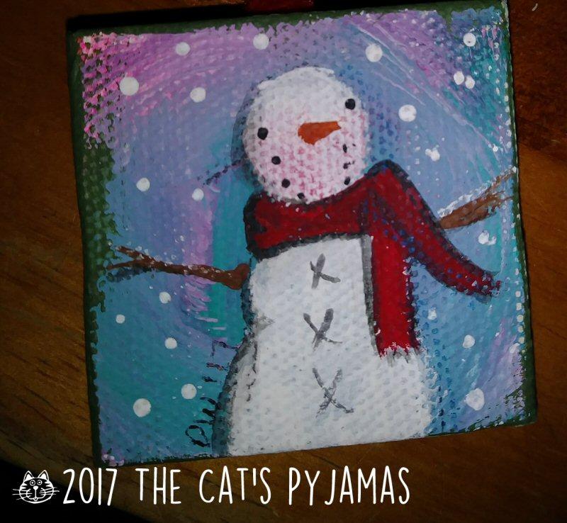 Snowman Ornament 028