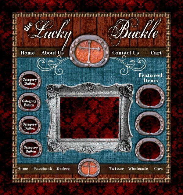 Lucky Buckle Graphics