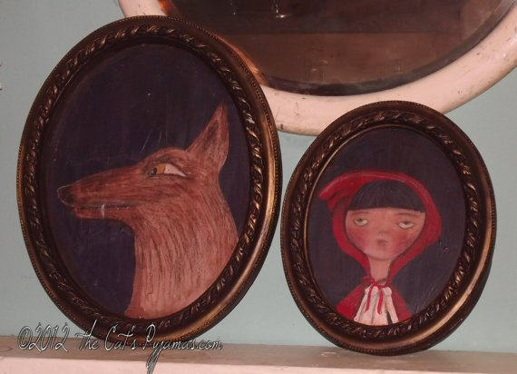Little Red Riding Hood & Big Bad Wolf