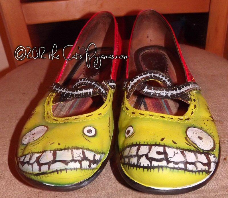 Zombie Mary Janes
